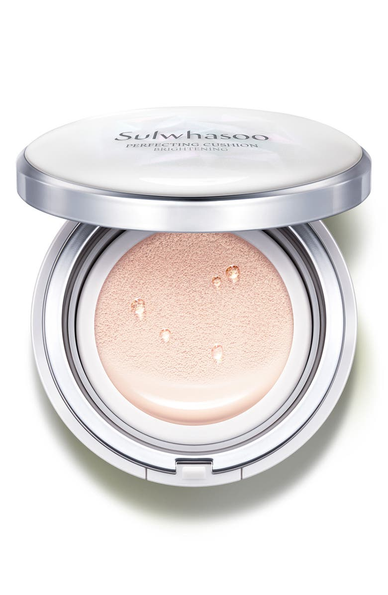 SULWHASOO Perfecting Cushion Brightening Foundation, Main, color, 11 PALE PINK