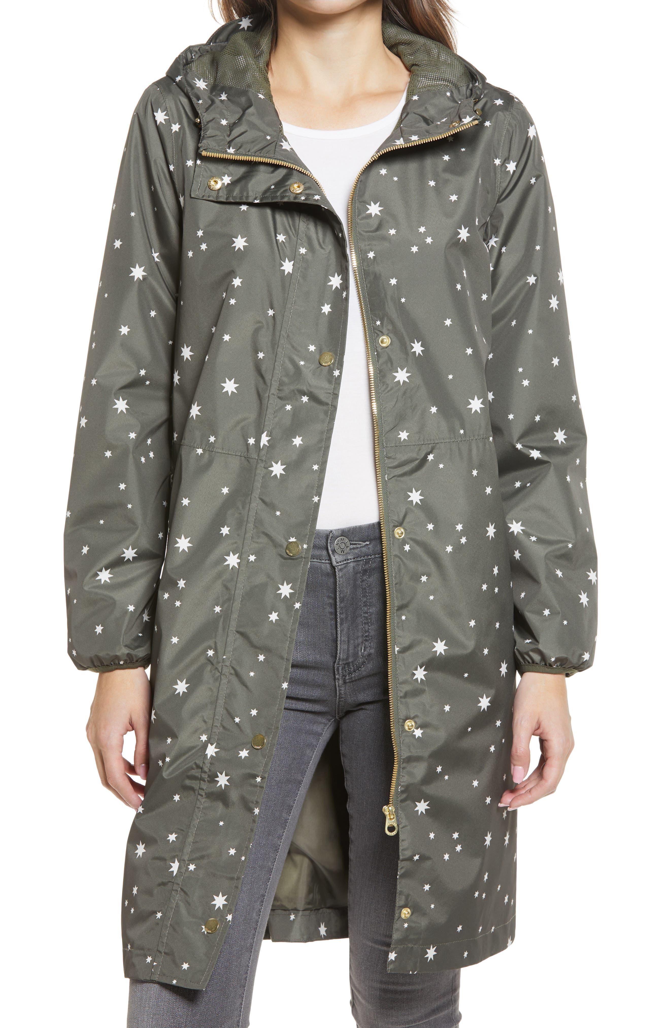 Women's Weybridge Polka Dot Packable Waterproof Raincoat
