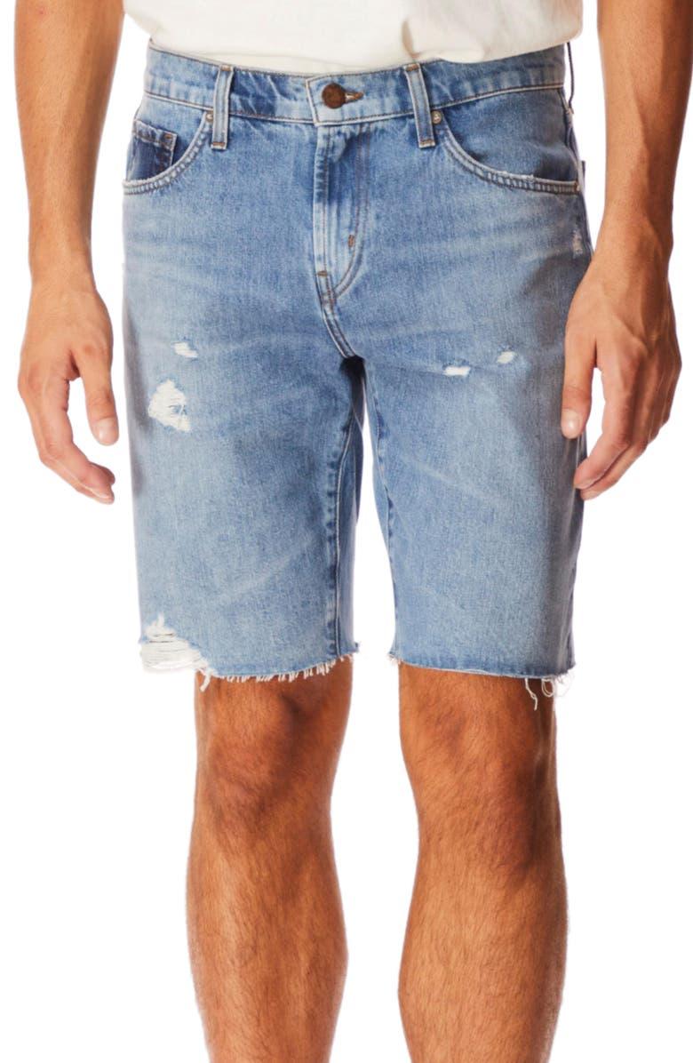 J BRAND Eli Cutoff Denim Shorts, Main, color, SHIMBUS