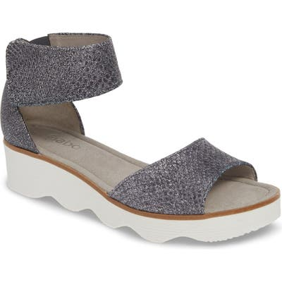 Gabor Wedge Sandal, Blue