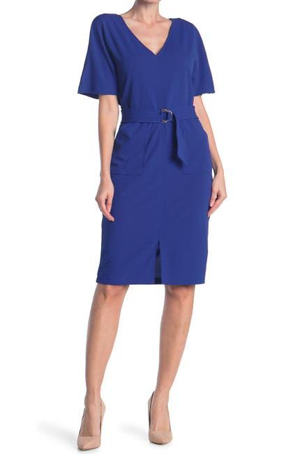 Image of TASH + SOPHIE Dolman Sleeve Sheath Dress