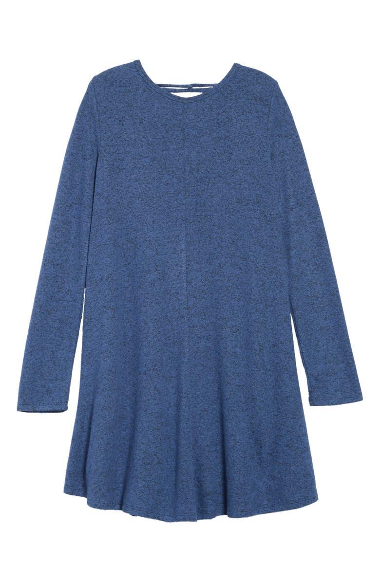 TUCKER + TATE Crisscross Back Dress, Main, color, 410