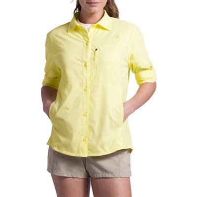 The North Face Outdoor Trail Long Sleeve Shirt, Yellow