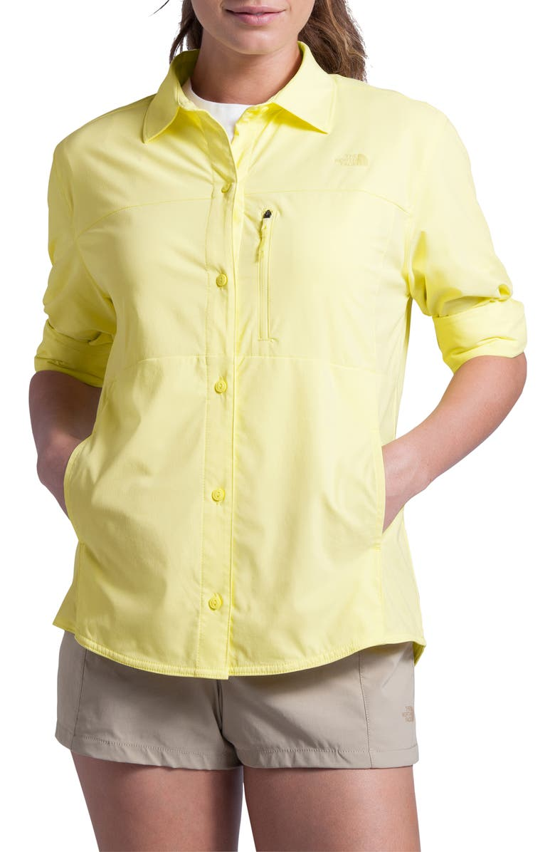 THE NORTH FACE Outdoor Trail Long Sleeve Shirt, Main, color, 740