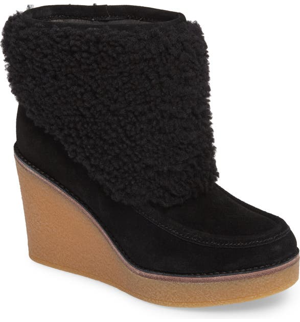 fef8bf56065 Coldin Wedge Bootie