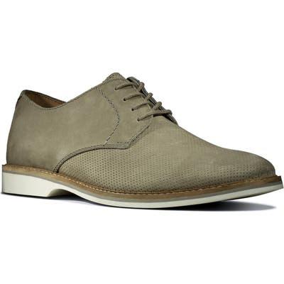 Clarks Atticus Plain Toe Derby- Green