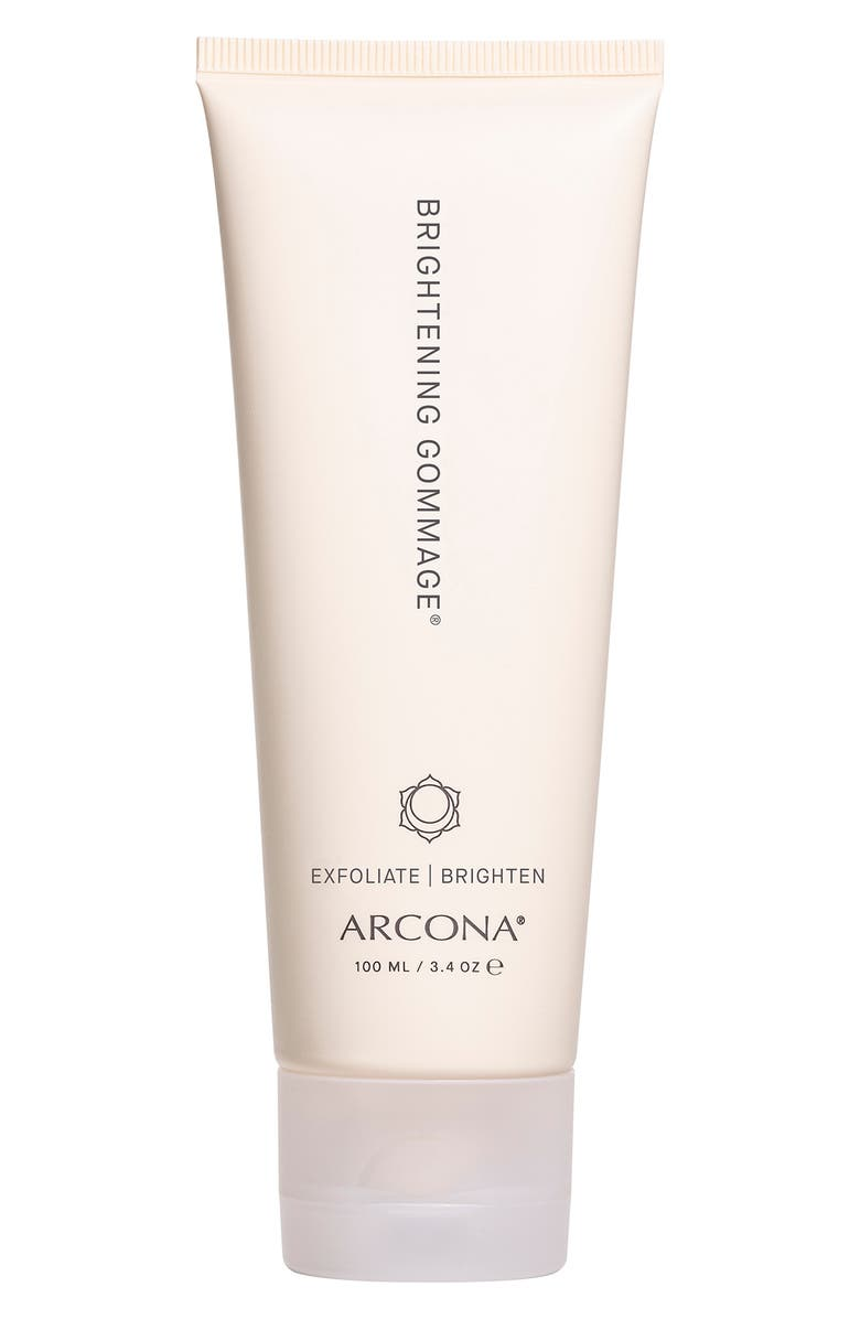 ARCONA Brightening Gommage Exfoliator, Main, color, NO COLOR