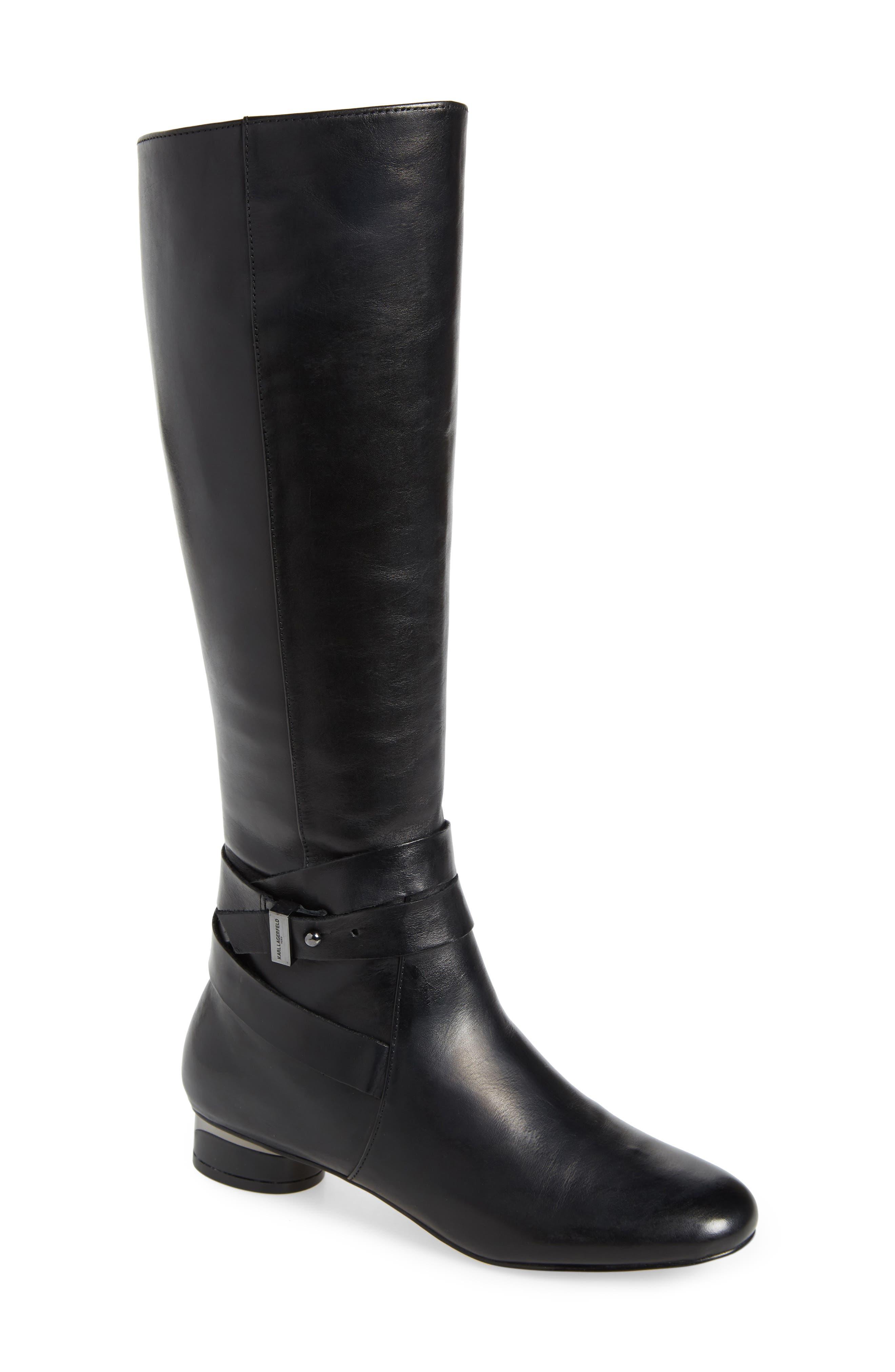 Karl Lagerfeld Paris Fran Knee High Boot