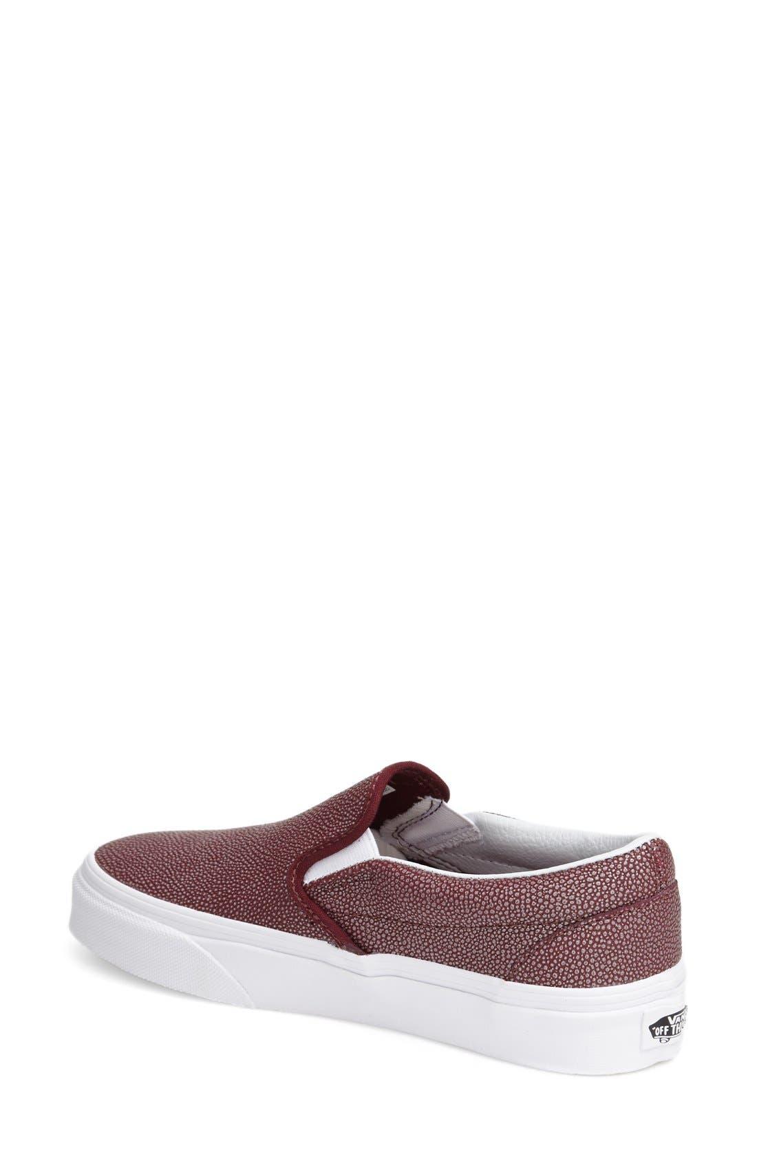 ,                             Classic Slip-On Sneaker,                             Alternate thumbnail 379, color,                             601