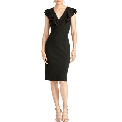 Rachel Rachel Roy Lydia Ruffle Sheath Dress