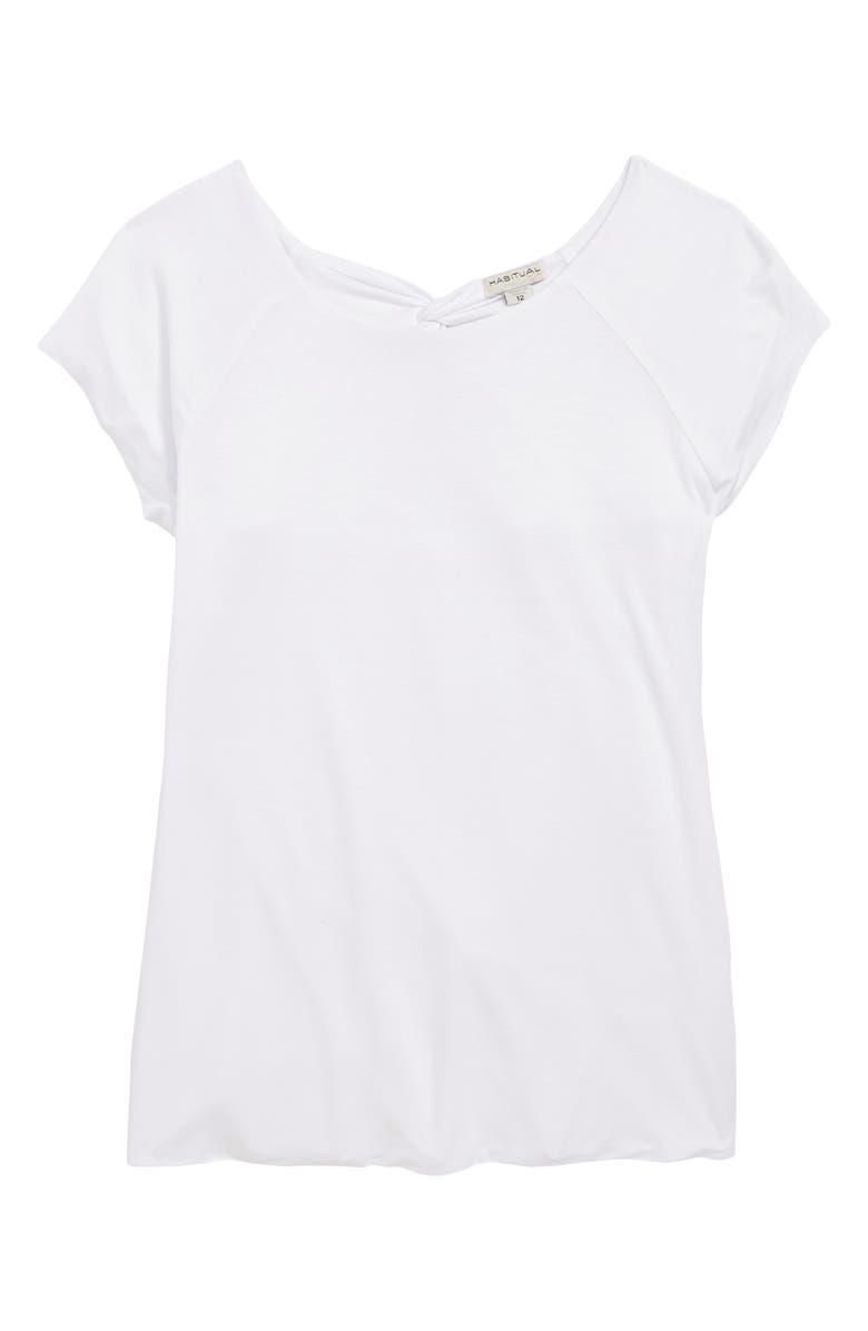 HABITUAL Gianna Crossback Top, Main, color, WHITE