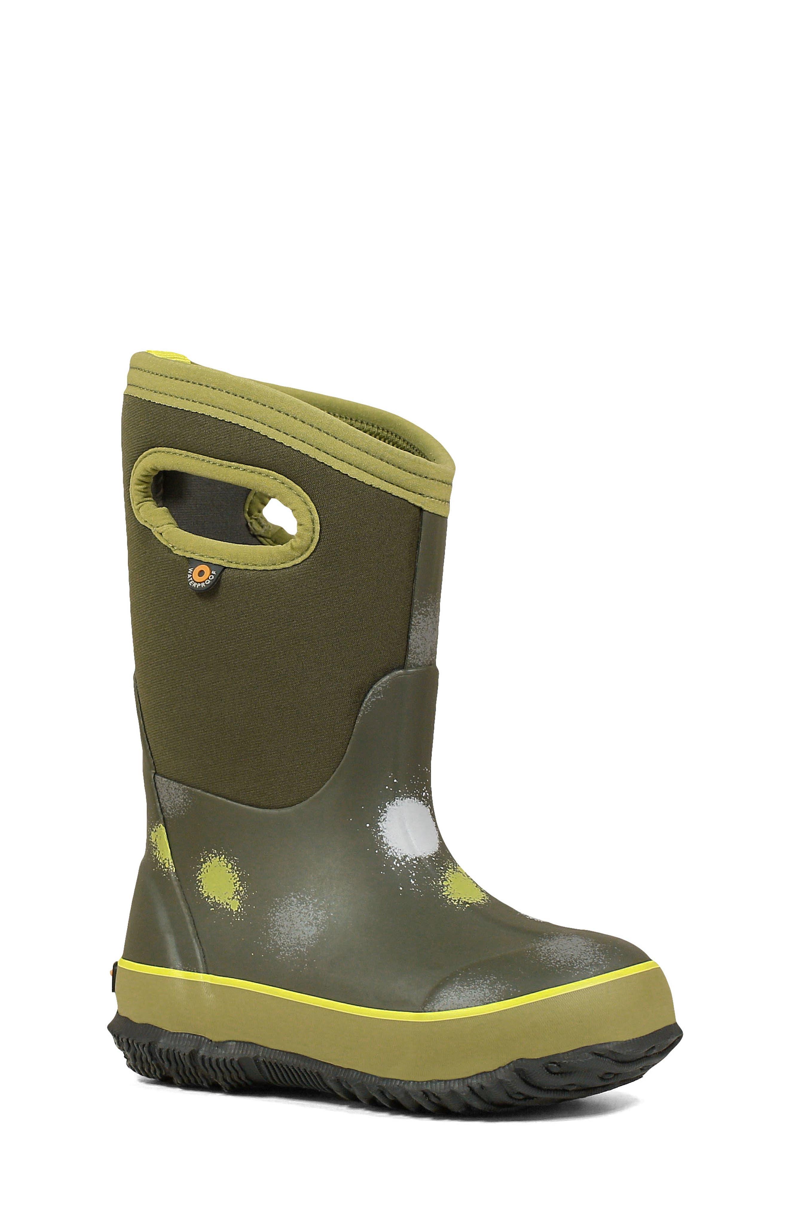 Image of Bogs Classic B Funprint Waterproof Boot