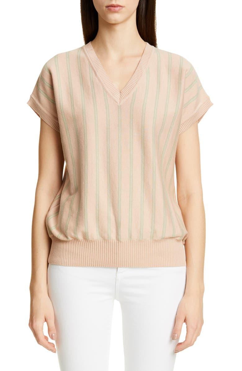 JACQUEMUS Marco Stripe Sweater, Main, color, 650