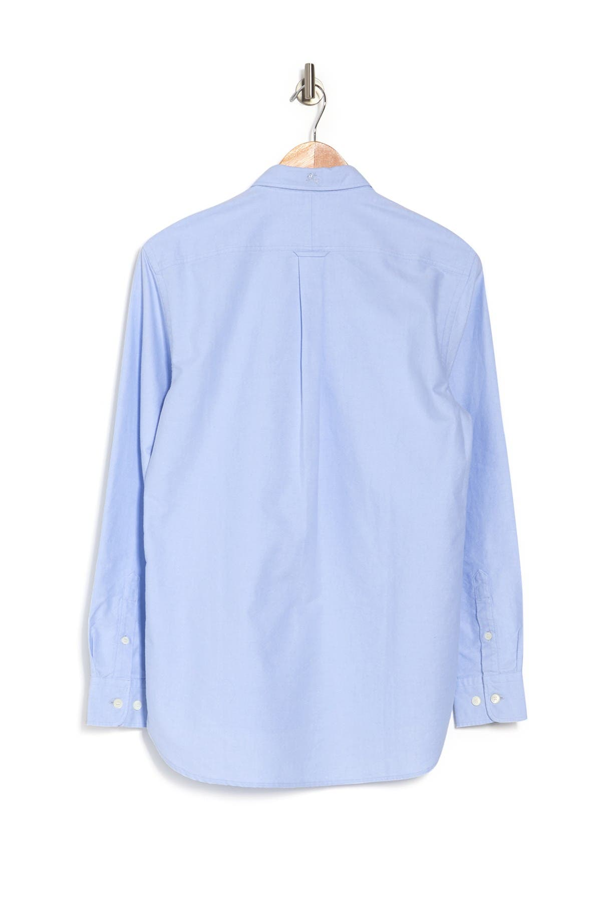 Image of Burberry Harry Button Collar Dress Shirt
