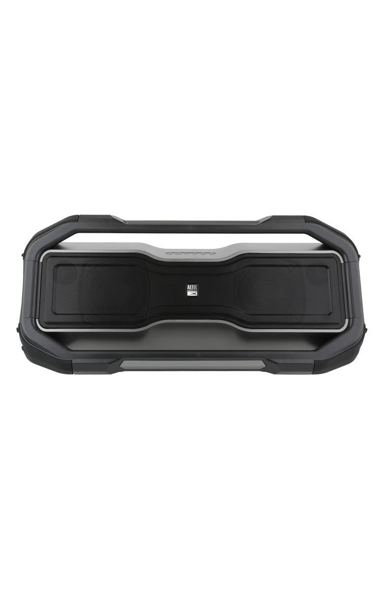 ALTEC LANSING RockBox XL Bluetooth<sup>®</sup> Speaker, Main, color, BLACK/ GRAY