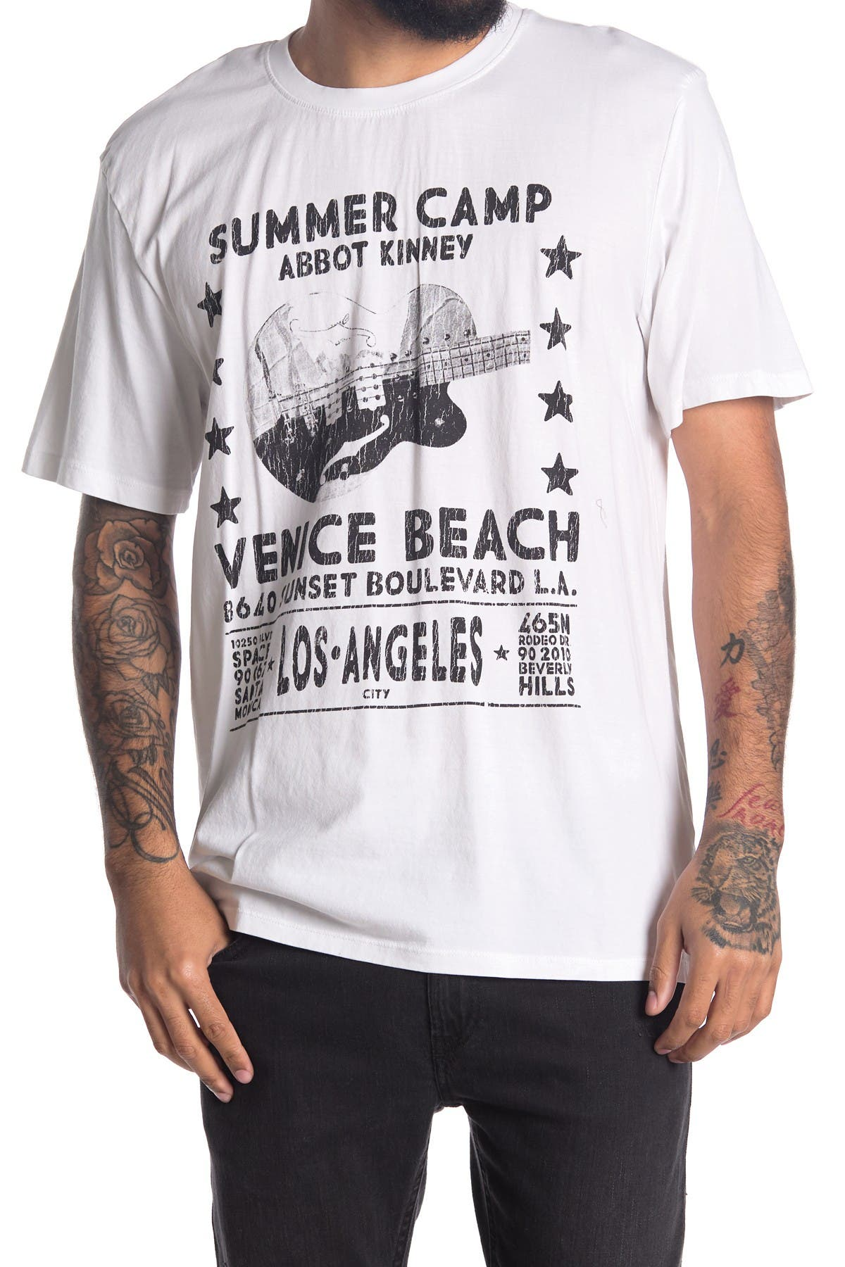 Image of Zadig & Voltaire Tobias Summer Camp Graphic T-Shirt