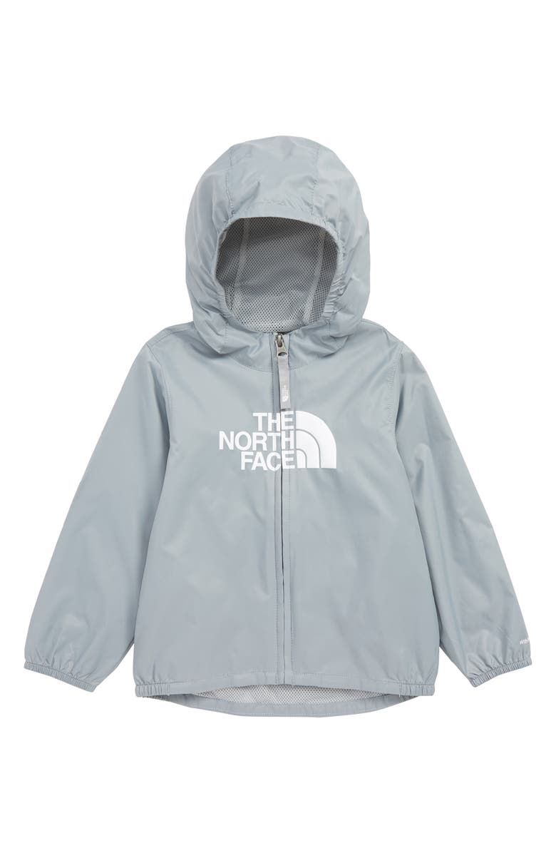 THE NORTH FACE Flurry Water Repellent Windbreaker, Main, color, MID GREY