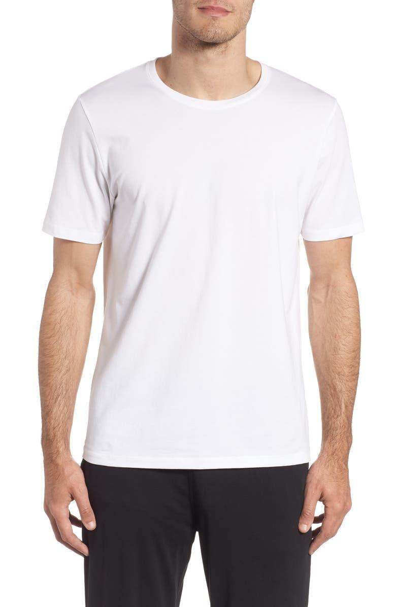 TOMMY JOHN Second Skin Crewneck T-Shirt, Main, color, WHITE