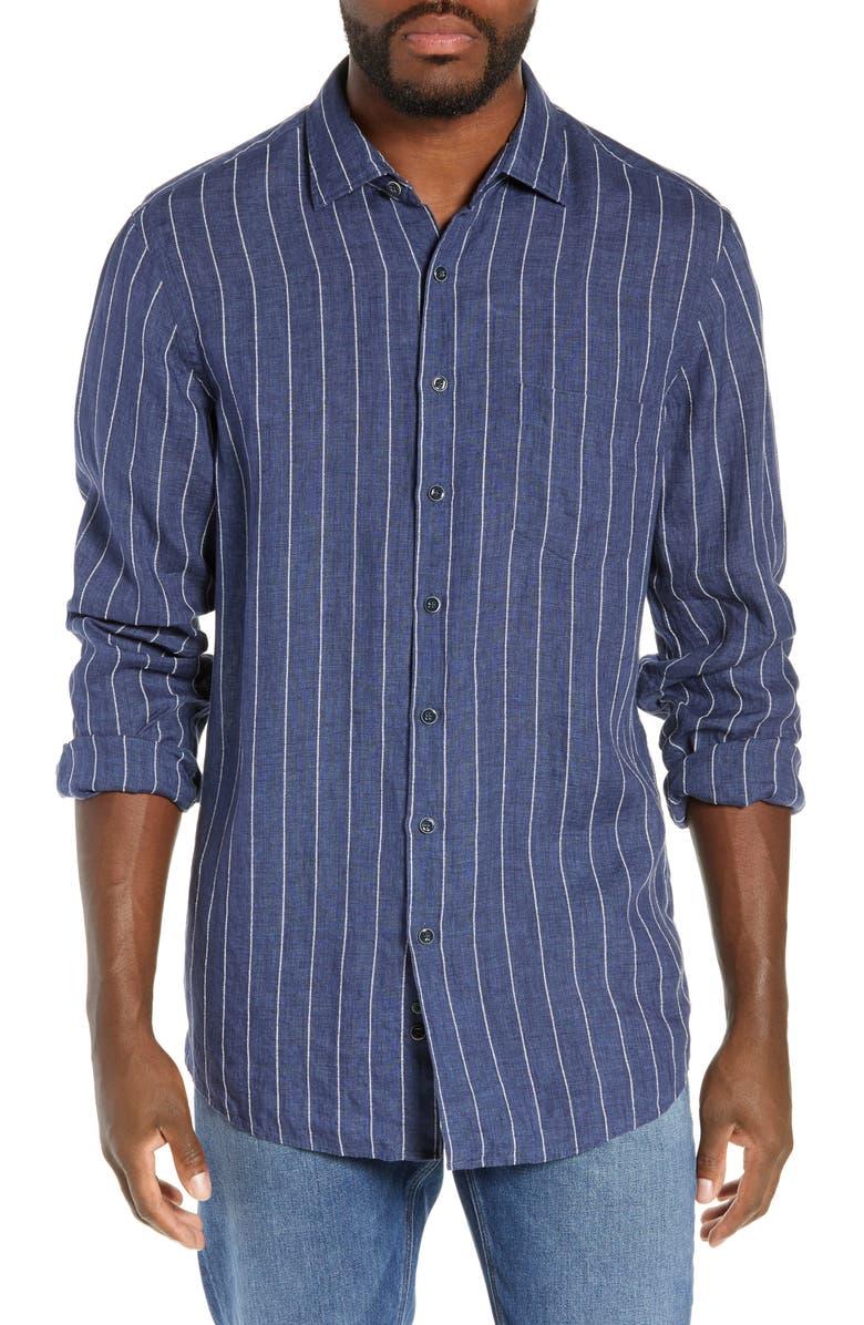 Rodd Gunn Mangle Valley Regular Fit Linen Cotton Shirt