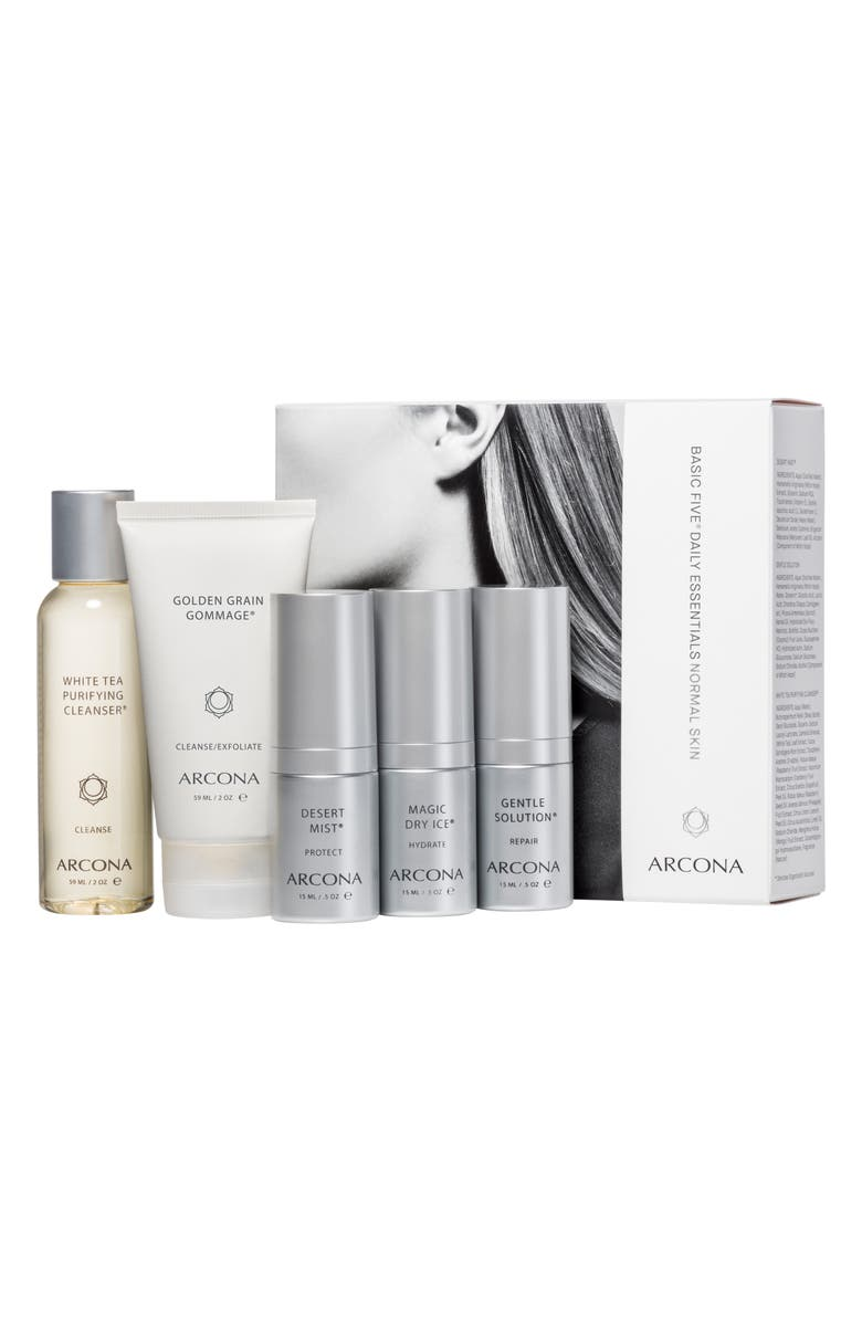 ARCONA Normal Skin Starter Kit, Main, color, NO COLOR