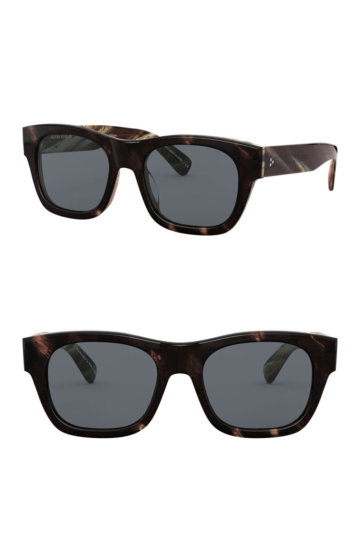 Image of Oliver Peoples Keenan 54mm Square Sunglasses