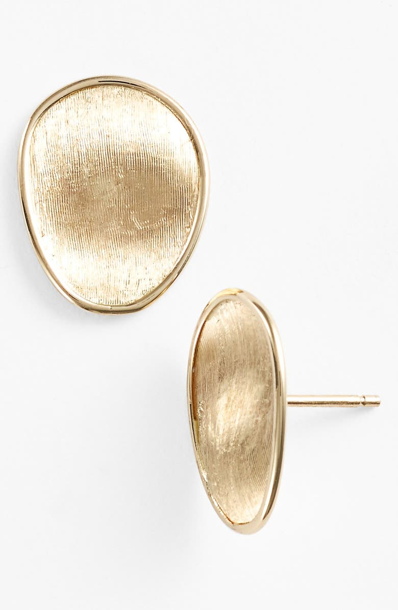 MARCO BICEGO 'Lunaria' Stud Earrings, Main, color, YELLOW GOLD
