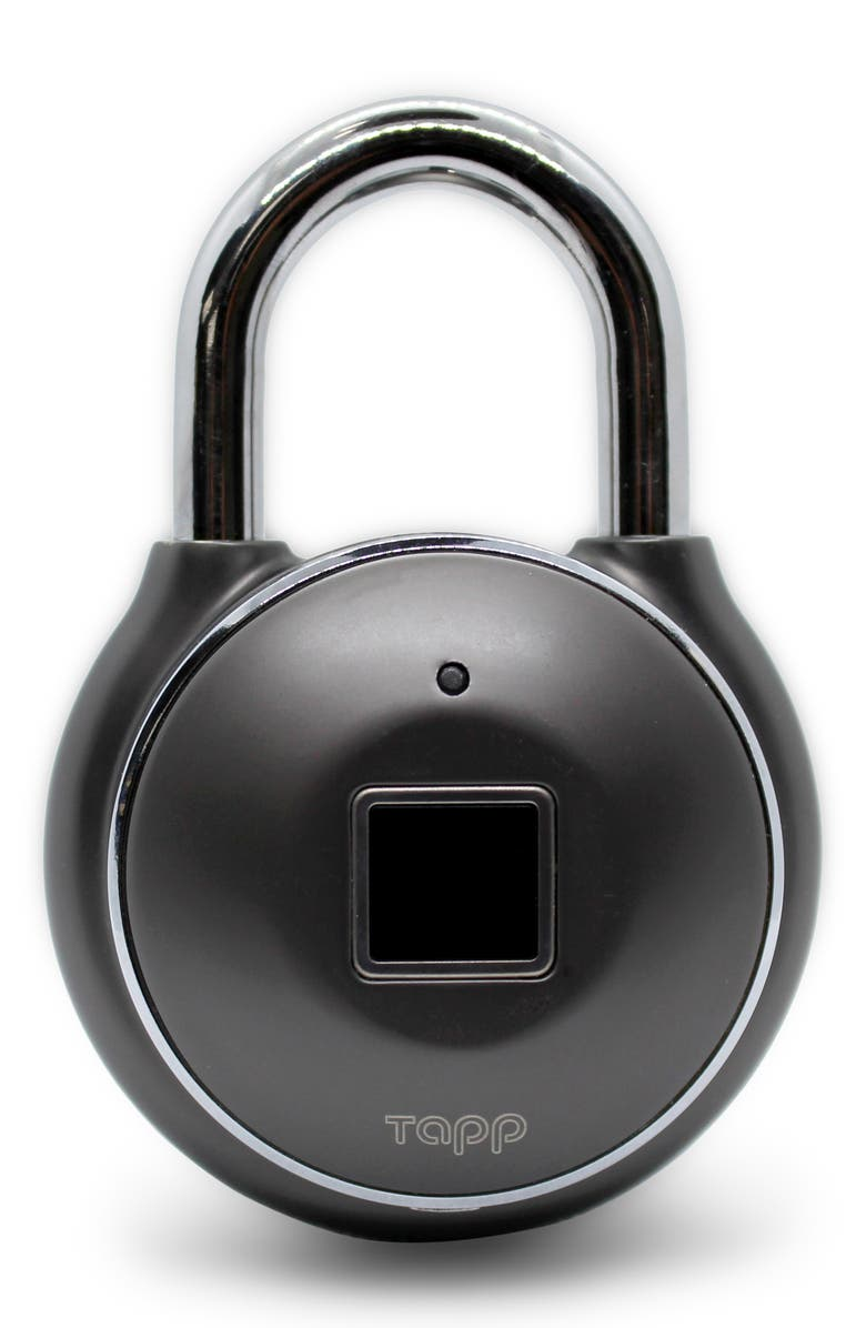 TAPPLOCK Tapplock one+ Stainless Steel Smart Padlock, Main, color, 001