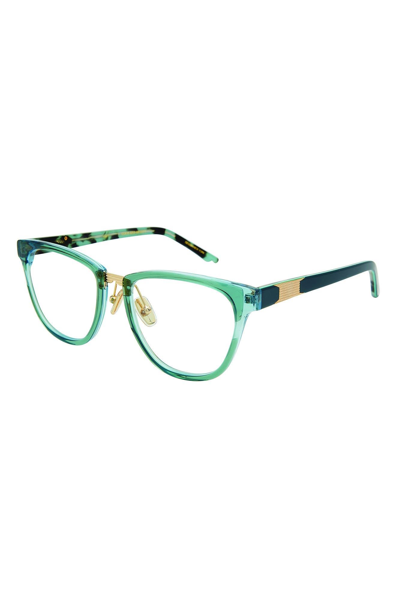 Intention 52mm Oval Blue Light Filtering Glasses