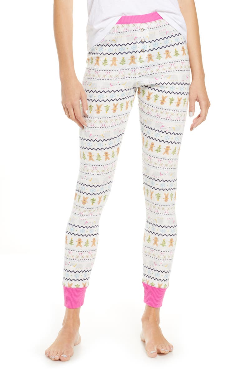 BP. Thermal Leggings, Main, color, IVORY EGRET FAIRISLE FRIENDS