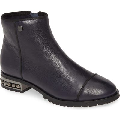 Karl Lagerfeld Paris Safia Boot, Blue