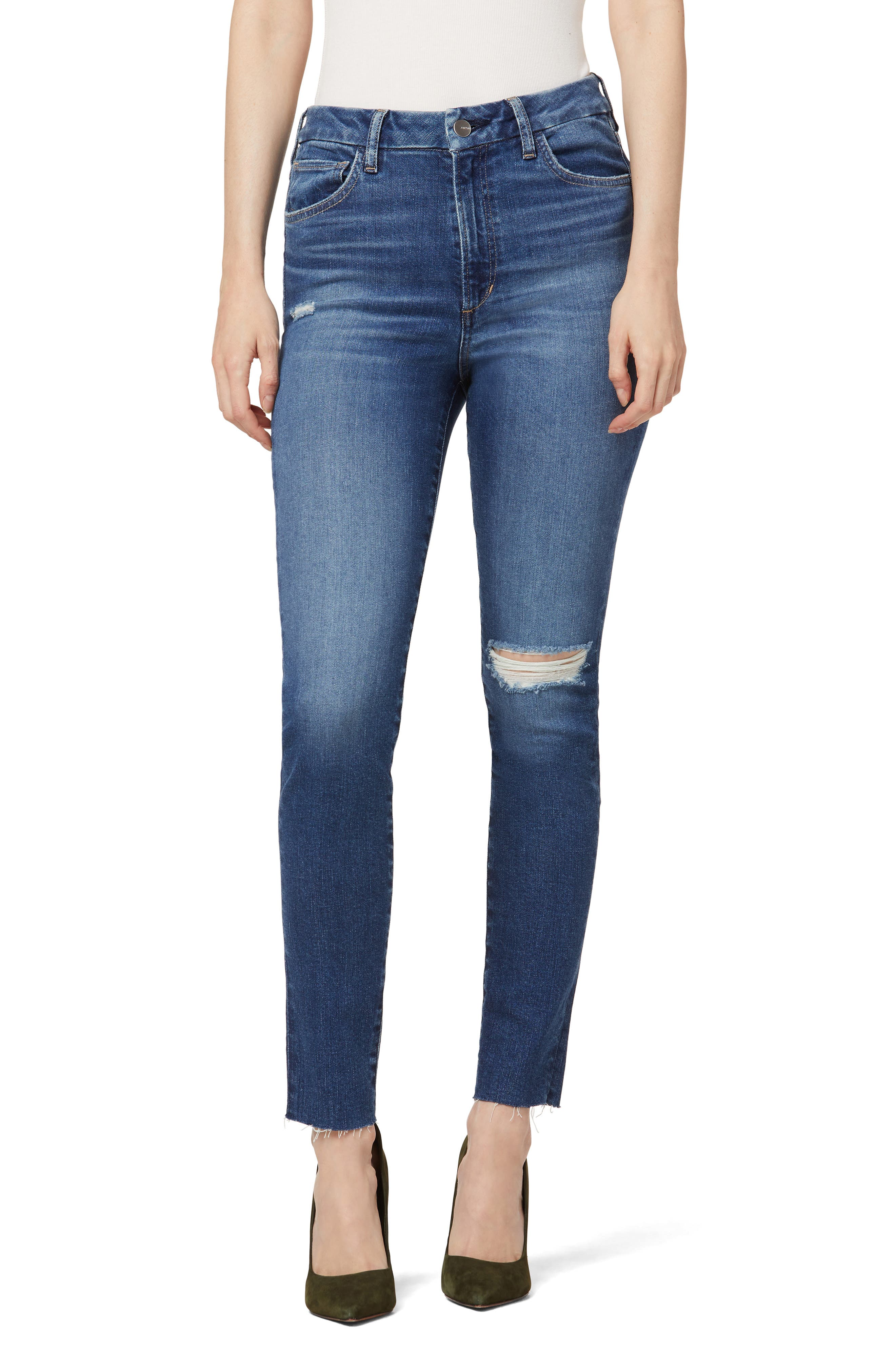 The Hi Honey High Waist Ankle Skinny Jeans