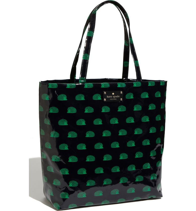 KATE SPADE NEW YORK 'daycation' coated canvas bon shopper, Main, color, 436
