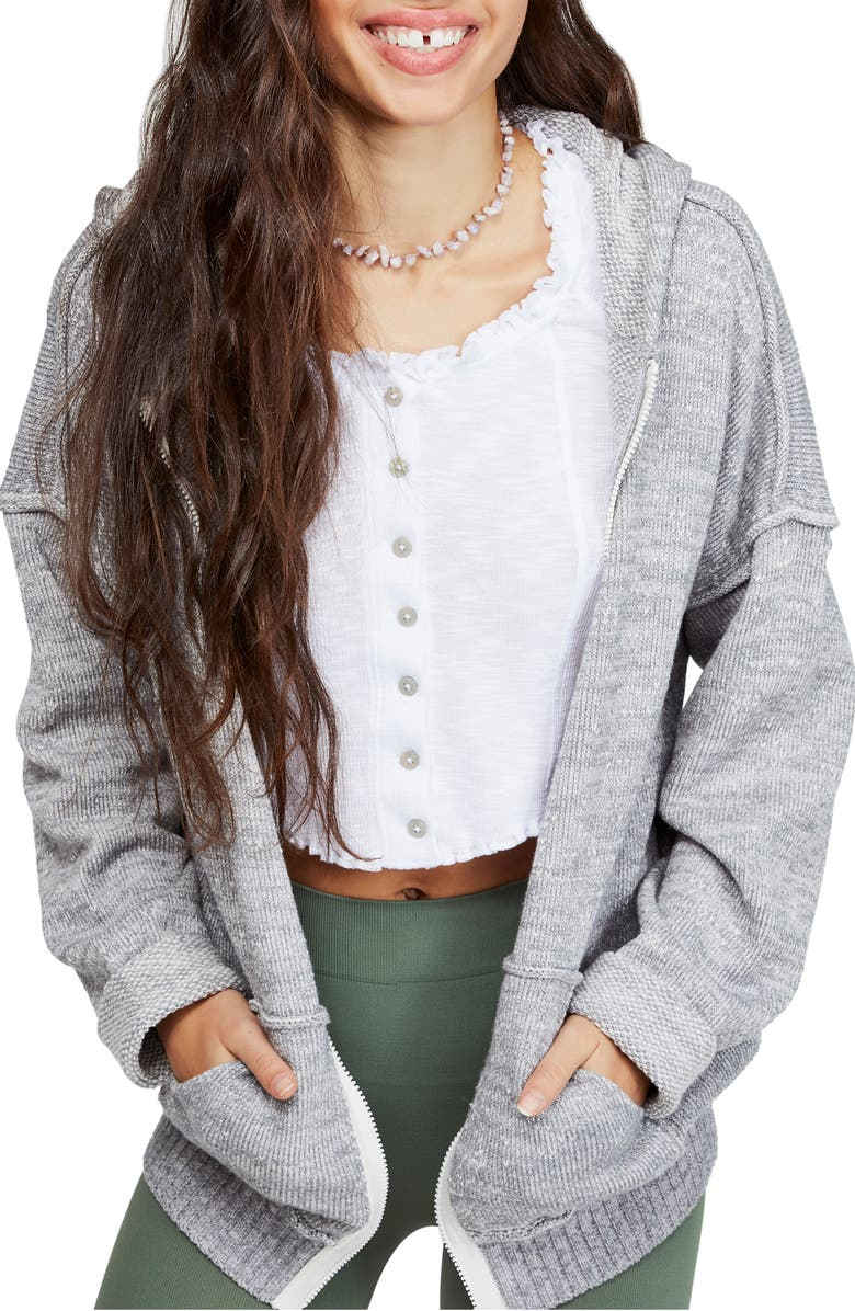 Free People In Bloom Full Zip Hoodie