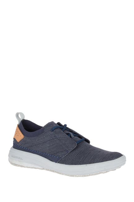 Image of Merrell Gridway Recycled Fabric Sneaker