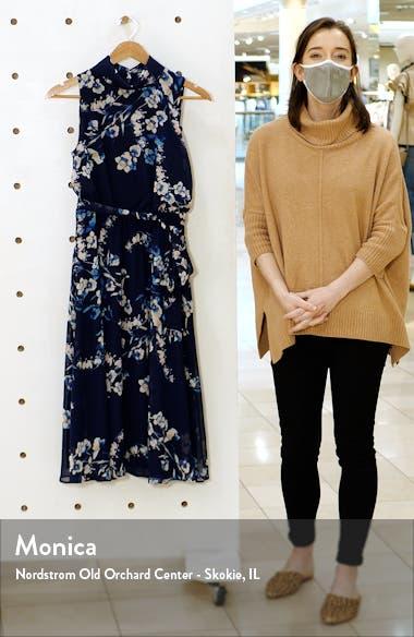 Sleeveless Tie Waist Chiffon Dress, sales video thumbnail