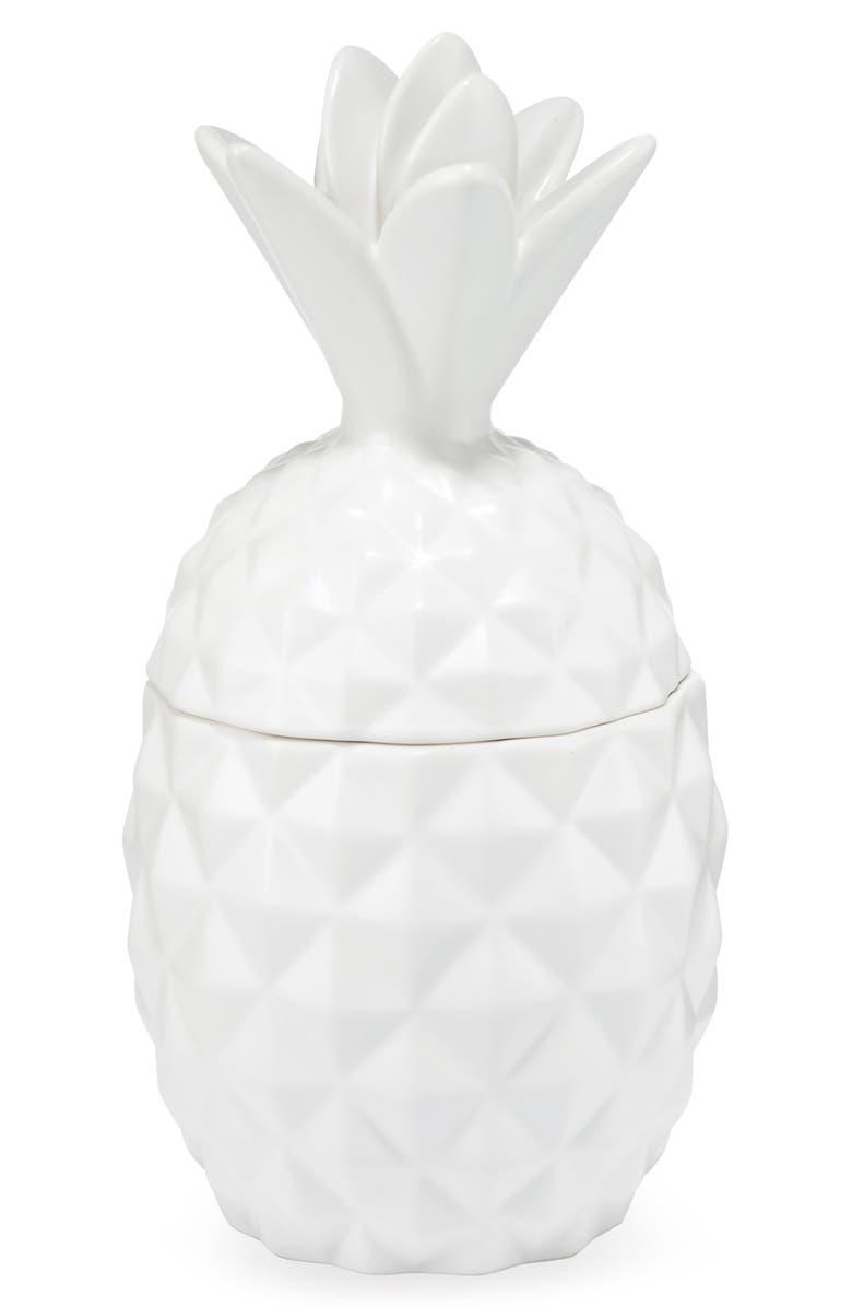 ILLUME<SUP>®</SUP> Ceramic Pineapple Jar Candle, Main, color, CITRUS CRUSH
