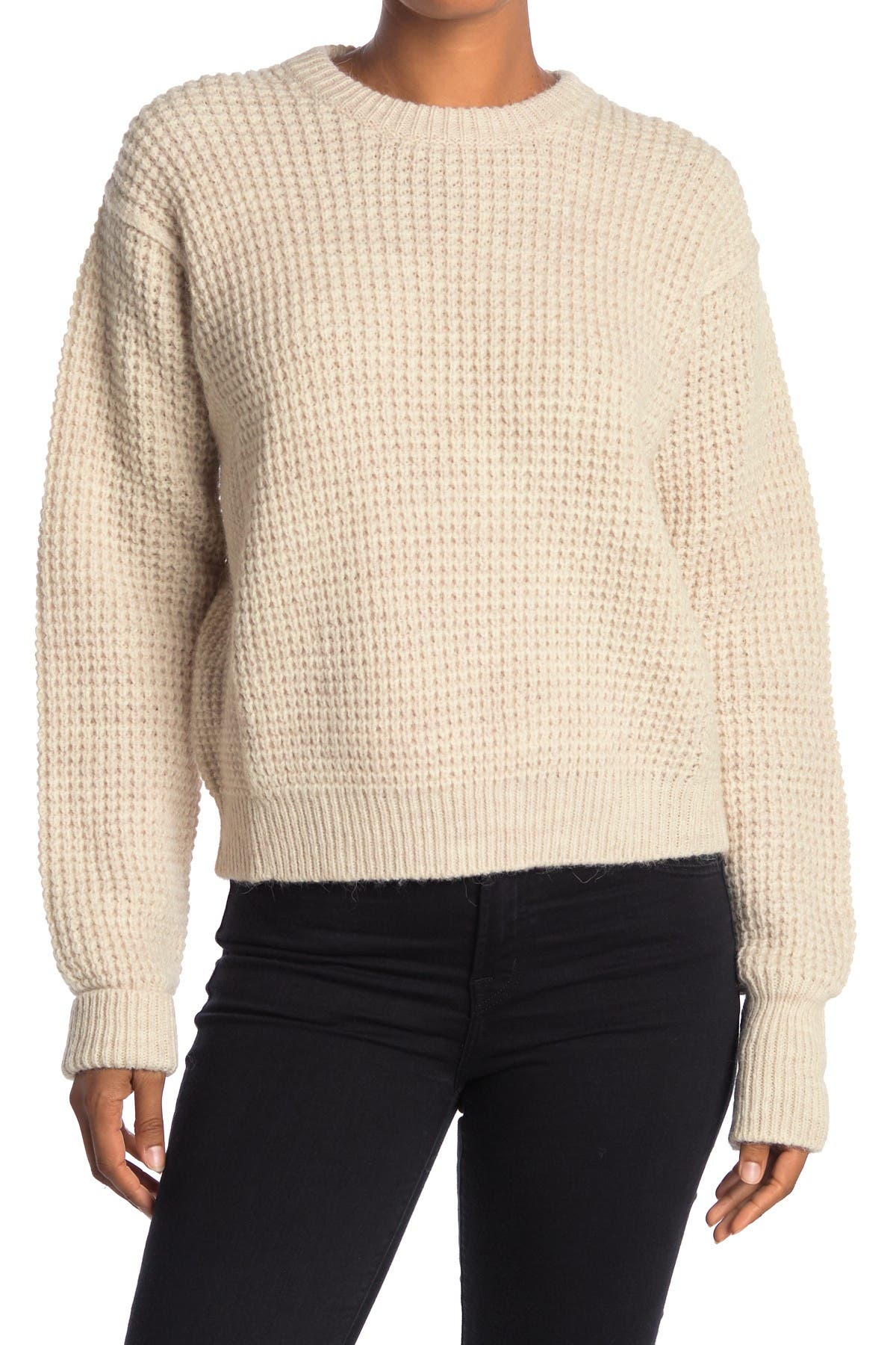 Image of Zadig & Voltaire Kary Waffle Knit Boxy Sweater