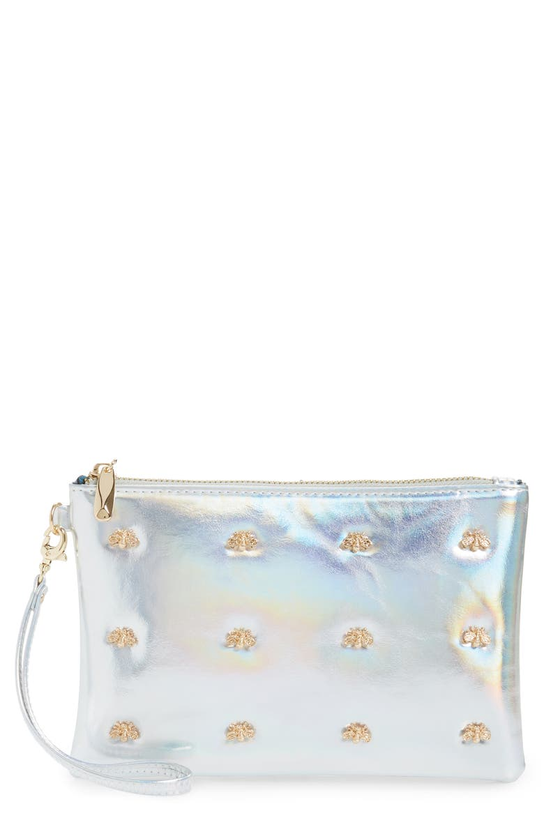Sondra Roberts Bee Faux Leather Wristlet