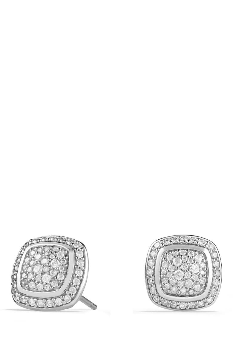 DAVID YURMAN 'Albion' Earrings with Diamonds, Main, color, DIAMOND