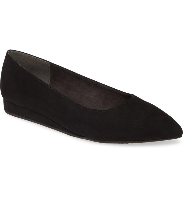 BC FOOTWEAR Role Model Vegan Flat, Main, color, BLACK FABRIC