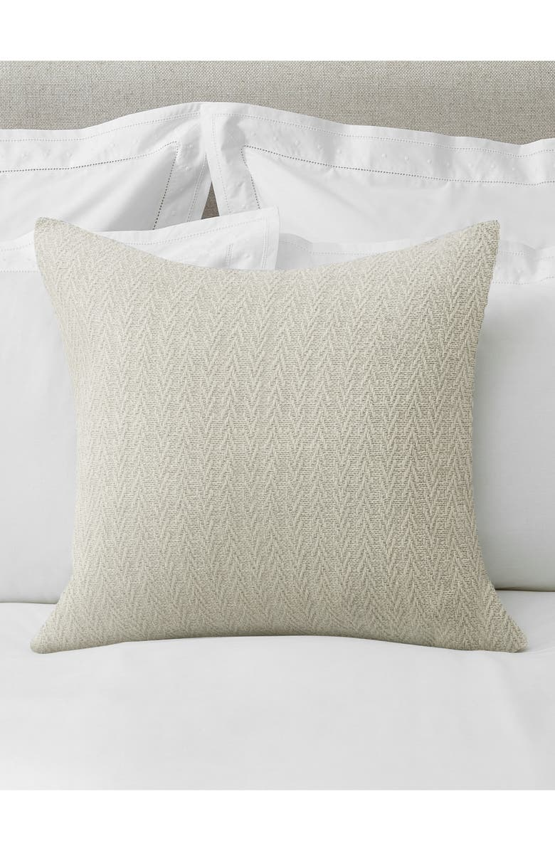 THE WHITE COMPANY Arlington Herringbone Lambswool Blend Cushion Cover, Main, color, 020