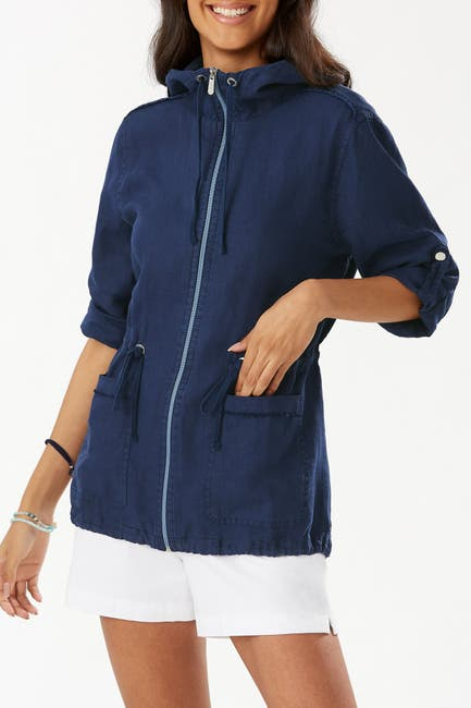 Image of Tommy Bahama Two Palms Linen Anorak