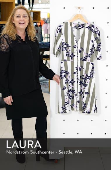 Vilja Pattern Mix Shirtdress, sales video thumbnail