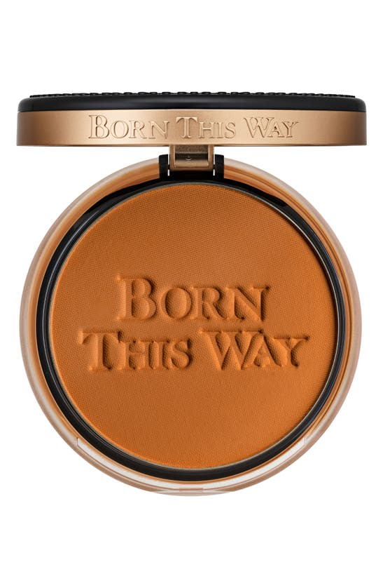 Too Faced Born This Way Undetectable Medium-to-full Coverage Powder Foundation In Mahogany