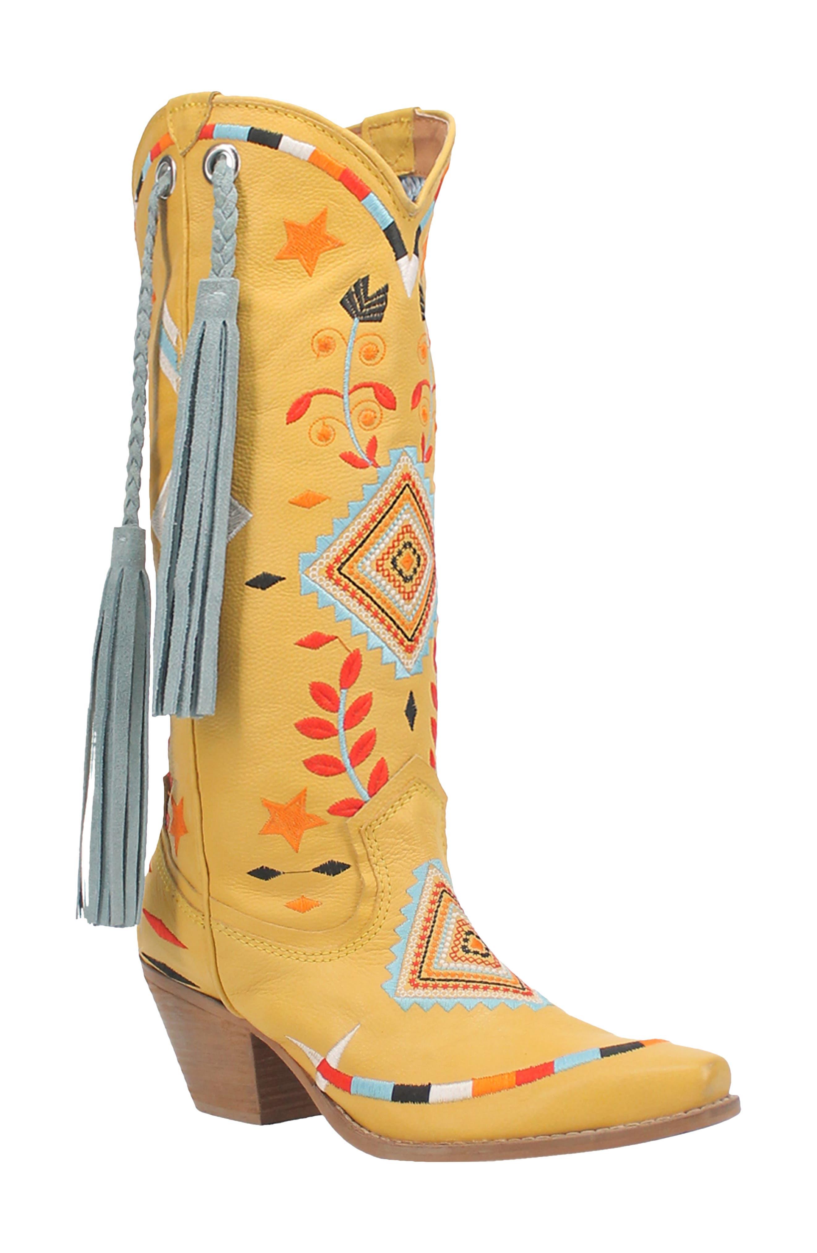 Toma Fringe Western Boot
