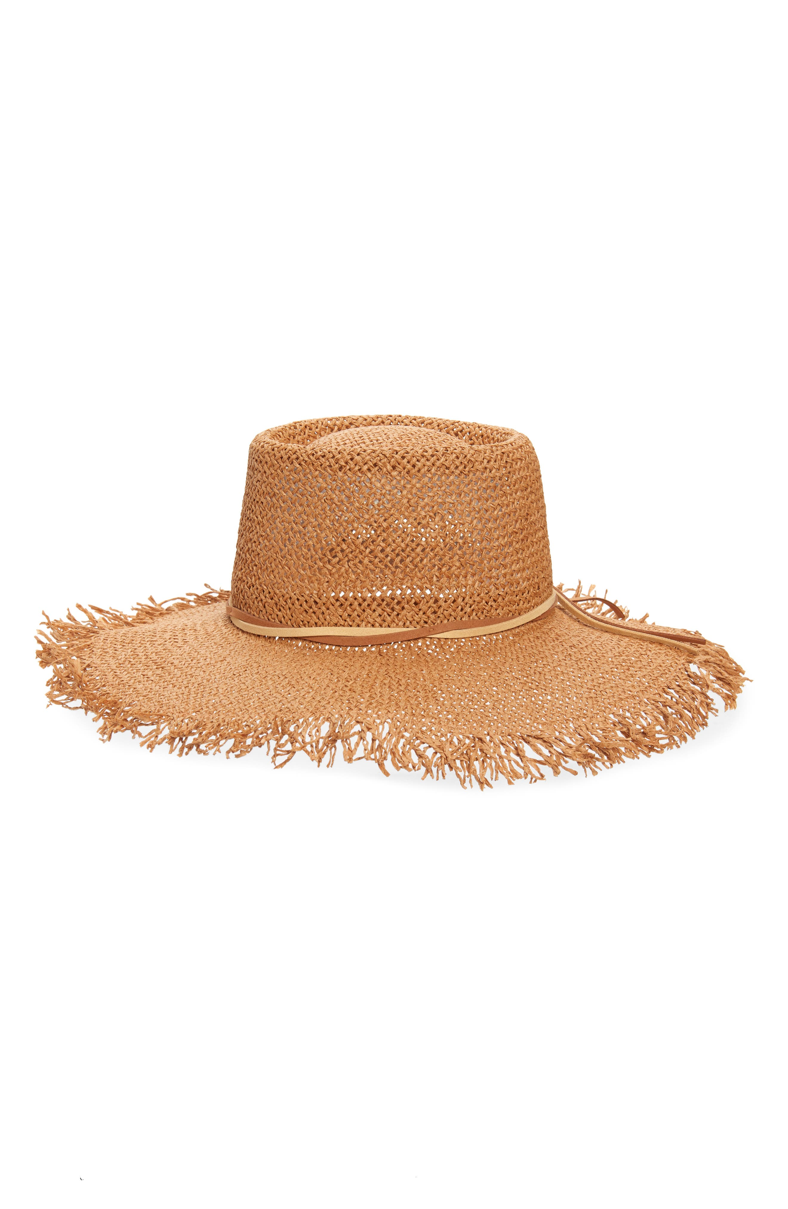 A frayed edge adds a bit of earthy appeal to this classic straw boater hat. When you buy Treasure & Bond, Nordstrom will donate 2.5% of net sales to organizations that work to empower youth. Style Name: Treasure & Bond Straw Boater Hat. Style Number: 5987736. Available in stores.