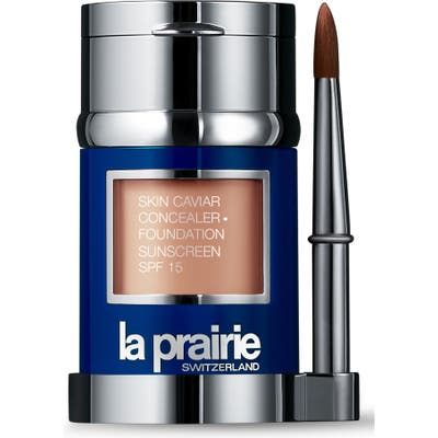 La Prairie Skin Caviar Concealer + Foundation Sunscreen Spf 15 - Porcelaine Blush