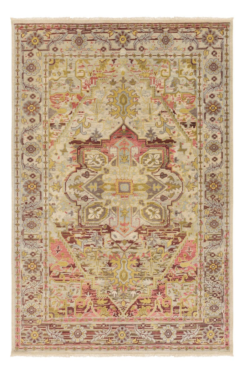 SURYA HOME Cappadocia Hand Loomed Area Rug, Main, color, TAN