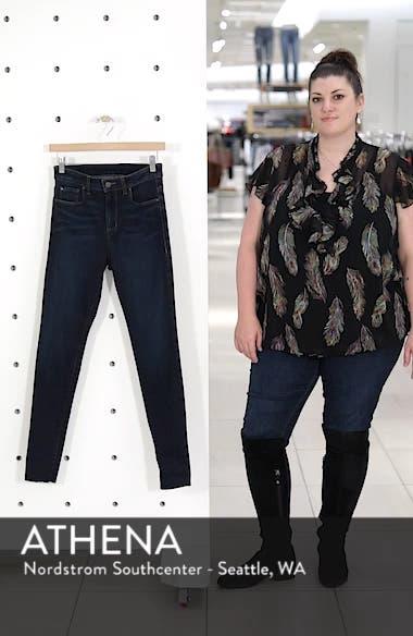 High Waist Cutoff Skinny Jeans, sales video thumbnail