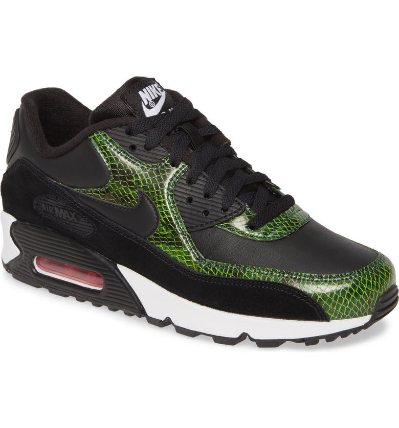 NIKE Air Max 90 QS Sneaker, Main, color, 001